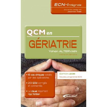 ECN-Intégrale : QCM en Gériatrie