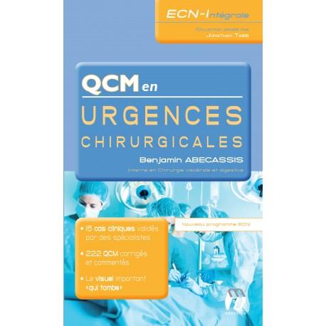 QCM en Urgences chirurgicales